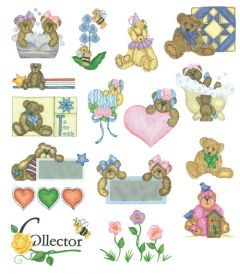 DIME Inspiration Collection Embroidery Designs #72 Susan Schmitz Unbearably Cute