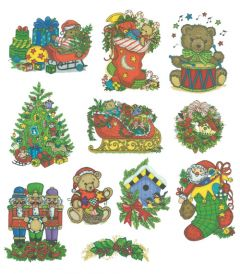 DIME Inspiration Collection Embroidery Designs #73 Tina Wenke Christmas