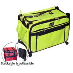 Tutto 20 Inch Sewing Machine Trolley on Wheels Lime