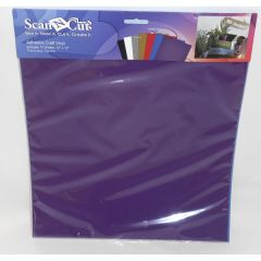 Brother Craft Adhesive Vinyl Sheets Pack of Assorted Colors