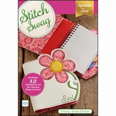 DIME Designs in Machine Embroidery #151 Stitch Swag Snazzy Snap Covers
