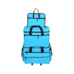 Bluefig Sewing Machine Trolley Set in Aqua