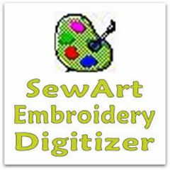 SewArt Embroidery Digitizer