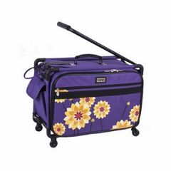 Tutto 22 Inch Sewing and Embroidery Machine Trolley in Purple Dahlia