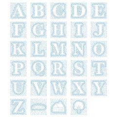 DIME Designs In Machine Embroidery #91 Stony Brook Alphabet Embroidery Designs