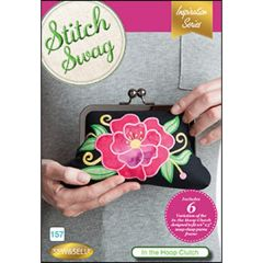 DIME Designs In Machine Embroidery #157 Stitch Swag In The Hoop Clutch