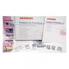 Janome Fashion & Finishing Accessory Foot Kit for 9mm Machines