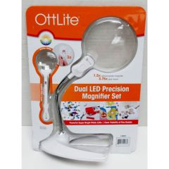OttLite Dual LED Precision Magnifier Set