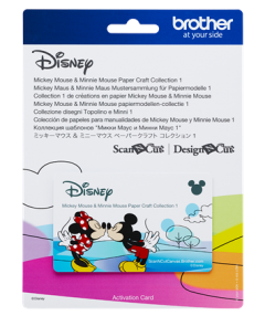 Disney Mickey Mouse and Minnie Mouse Pattern Collection #1