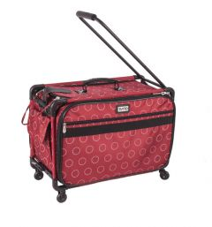 Tutto 22 Inch Sewing and Embroidery Trolley Red Dot