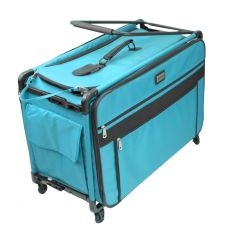 Tutto 28 Inch Sewing and Embroidery Trolley Turquoise