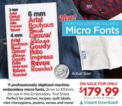 DIME Micro Font Collection 2