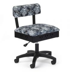 Arrow Hydraulic Sewing Chair in Wicked Cosplay Fabric