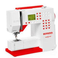 Bernina B215 Simply Red Sewing Machine