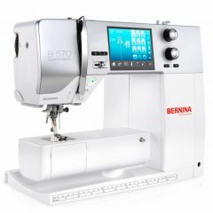 Bernina 570QE Sewing and Embroidery Machine