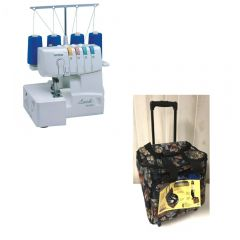 Brother 1034D Serger - Refurbished with Storage Trolley