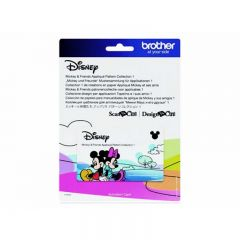 Brother ScanNCut Mickey & Friends Applique Pattern Collection 1