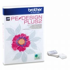 Brother PEDesign Plus 2 Digitizing Editing Lettering Embroidery Software