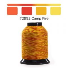 Grace Finesse Variegated Quilting Thread Camp Fire #2993
