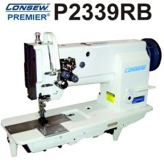 Consew P2339RB Double Needle Walking Foot Leather and Upholstery Sewing Machine