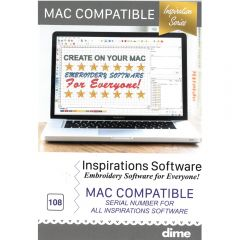 DIME Designs in Machine Embroidery Inspirations Software MAC Key