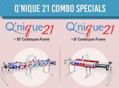 Grace Q'nique 21 Long Arm Quilting Machine with Continuum Frame