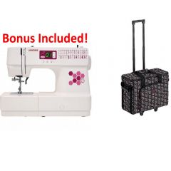 Janome C30 Computerized Sewing Machine + BONUS Kit & Trolley