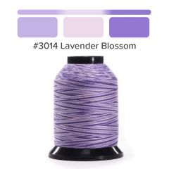 Grace Finesse Variegated Quilting Thread Lavender Blossom #3014
