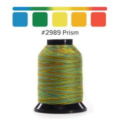 Grace Finesse Variegated Quilting Thread Prism #2989