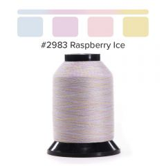 Grace Finesse Variegated Quilting Thread Raspberry Ice #2983