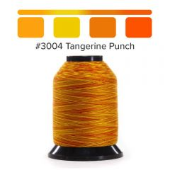 Grace Finesse Variegated Quilting Thread Tangerine Punch #3004