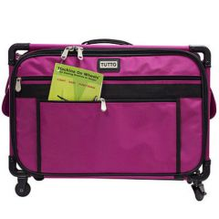 "Tutto 22"" Sewing Machine Trolley on Wheels Pink"