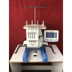 Janome MB-4 Commercial Embroidery Machine Recent Trade