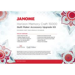 Janome Memory Craft 15000 Quilt Maker Embroidery Machine Upgrade Kit