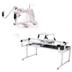 Grace 15 Pro Longarm Quilting Machine with Q-Zone Hoop Frame Pro