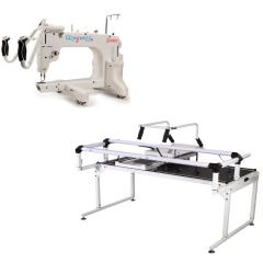 Grace 15R Longarm Quilting Machine with Q-Zone Hoop Frame Pro
