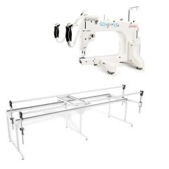 Grace 15R Longarm Quilting Machine with Q-Zone Queen Frame