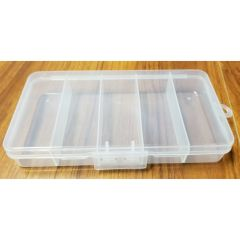 Sewing Notions Box Clear