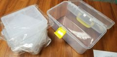 Clear Sewing Notions Tool Box
