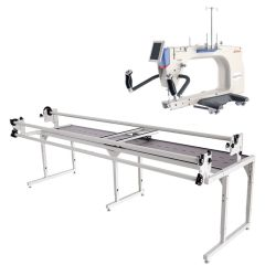Grace Q'nique 21 Pro Long Arm Quilting Machine with Continuum Frame + Bonus Kit
