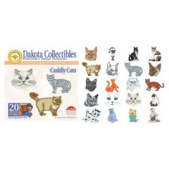 Dakota Collectibles Cuddly Cats Embroidery Designs
