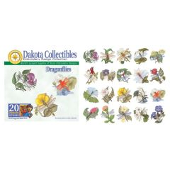 Dakota Collectibles Dragonflies Embroidery Designs