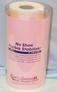Ken's Sewing No Show Mesh Fusible Embroidery Stabilizer