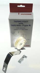 Janome Tape Foot with Tape Reel B