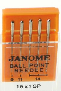 Janome Ball Point Assorted Size Needle Pack