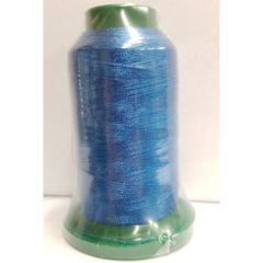 Exquisite Alpha Blue Embroidery Thread 697 - 5000m