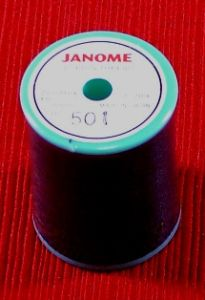 Janome Embroidery Bobbin Thread Black 300m Spool