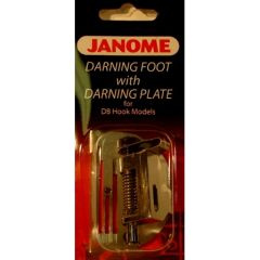 Janome 1600 Series Darning Foot with Darning Plate Heavy Duty