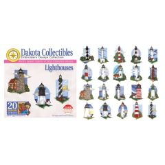 Dakota Collectibles Lighthouses Embroidery Designs
