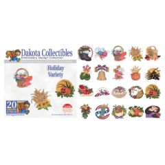 Dakota Collectibles Holiday Variety Embroidery Designs